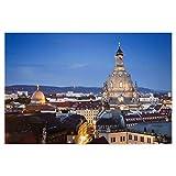 artboxONE Poster 90x60 cm Städte Frauenkirche Dresden -