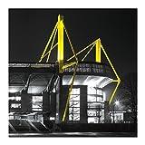 "Borussia Dortmund Kunstdruck ""Signal IDUNA Park - III"""
