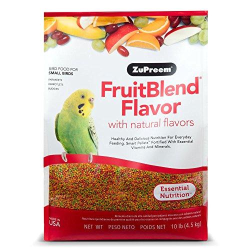 ZuPreem 230329fruitblend pequeño Keet Alimentos, 10-Pound