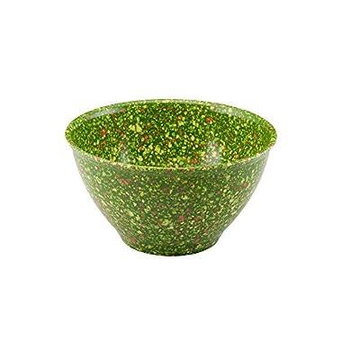 Rachael Ray 4-Qt Green Melamine Garbage Bowl