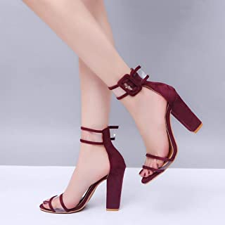 36 ZapatosY Color Tacon esZapatos Vino De Amazon F1cJlK