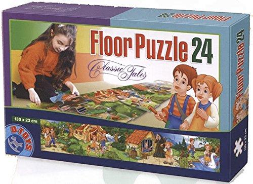 D-Toys Fairytales Hanger en Gretel vloerpuzzel (24 delen)