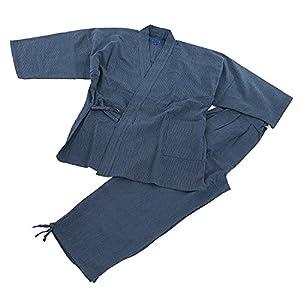 Edoten Men's Japan Kimono quilted clothes Sasiko Samue