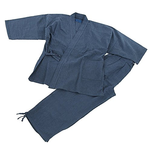 Edoten Mens Japan Kimono Ninjya Cotton100/% Samue