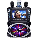 "Karaoke GF842 DVD/CDG/MP3G Karaoke System with 7"" TFT Color Screen, Record, Bluetooth"