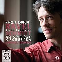Ravel & Schmitt: Piano Concertos by Vincent Larderet