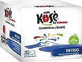 Kose Deciso Kimbo - 150 cialde per caffè espresso e caffè, 44 mm