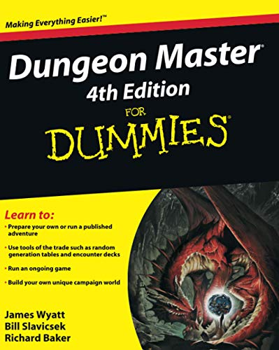 Dungeon Master 4th Edition For Dummies(r)