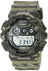 best camouflage rugged military watch - Casio G-Shock Men's GD-120CM Camo Sport Watch