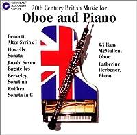 オーボエとピアノのための20世紀イギリス音楽