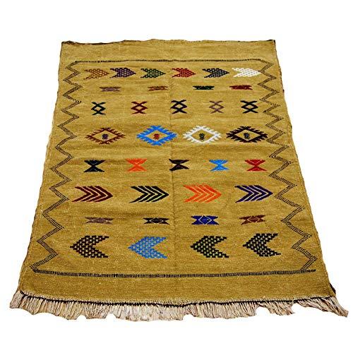 Etnico Arredo Alfombra Kilim Berbero Marruecos African original Lana TN 2207190919