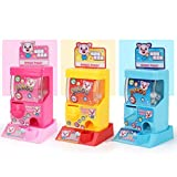 Tomaibaby 1 Set of Gashapon Machine Funny Exquisite Lovely Creative Digital Ball Game Toy Coin-Operated Machine Grabbing Catcher Machine Egg Twisting Toy