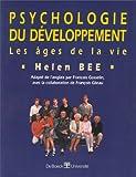 Psychologie du développement. Les âges de la vie