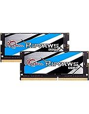 G.Skill RipJaws シリーズ 64GB (2 x 32GB) 260ピン SO-DIMM PC4-25600 DDR4 3200 CL22-22-52 1.20V デュアルチャンネルメモリモデル F4-3200C22D-64GRS