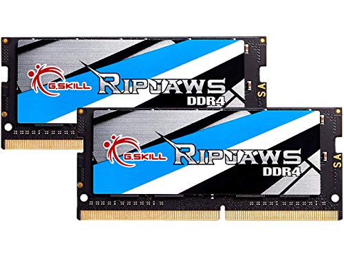 Price comparison product image G.SKILL 64GB 3200MHz DDR4 SO-DIMM Laptop Memory Upgrade Kit (CL22) 1.20V PC4-25600 Ripjaws 2x 32GB