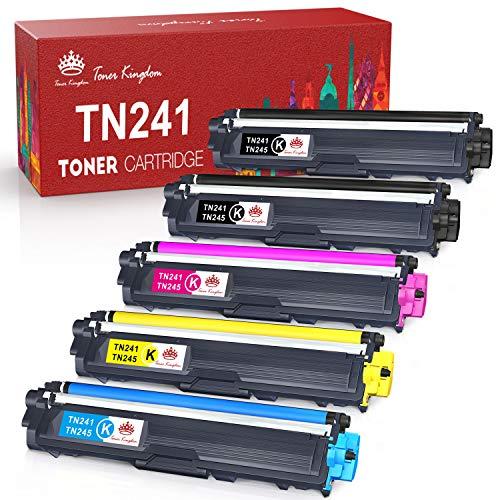 Toner Kingdom Kompatible Toner kartusche Ersatz für Brother TN241 TN242 TN245 TN246 für MFC-9332CD DCP-9022CDW DCP-9020CDW MFC-9140CDN MFC-9142CDN DCP-9015CDW HL-3142CW HL-3152CDW HL-3170CDW