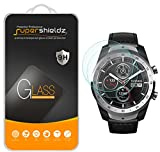 (2 Pack) Supershieldz for TicWatch Pro, TicWatch Pro 2020 and Ticwatch Pro 4G LTE Tempered Glass Screen Protector, (Full Screen Coverage) Anti Scratch, Bubble Free