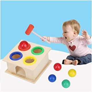 HHSDJ Wooden toys for babies hammer toy educational toys early learning musical children instrument gift maker sound Multi...