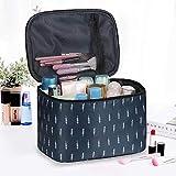 CHENYUXIA Bolsa de cosméticos Bolsa de Aseo de Viaje portátil Bolsa de cosméticos Bolsa de cosméticos de Gran Capacidad para Hombres y Mujeres