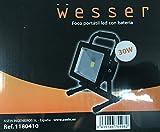 Wesser 1180410 -  Foco portátil led con batería