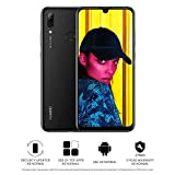 Huawei P Smart 2019 64 GB 6.21-Inch 2K FullView Dewdrop SIM-Free Smartphone with Dual AI Camera, Android 9.0, Single SIM, UK Version - Black