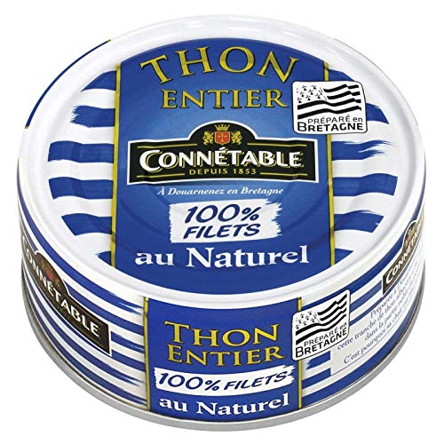 Connetable - Thon Albacore Entier Au Naturel 100%...