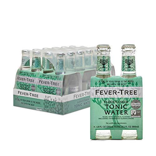 Fever-Tree Elderflower Tonic Water Glass Bottles