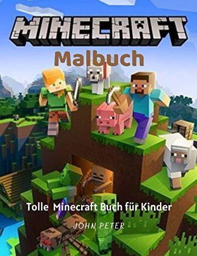 Minecraft Malbuch: Tolle Minecraft buch für Kinder