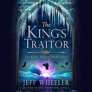 The King's Traitor     The Kingfountain Series, Book 3              Written by:                                                                                                                                 Jeff Wheeler                               Narrated by:                                                                                                                                 Kate Rudd                      Length: 12 hrs and 48 mins     5 ratings     Overall 5.0