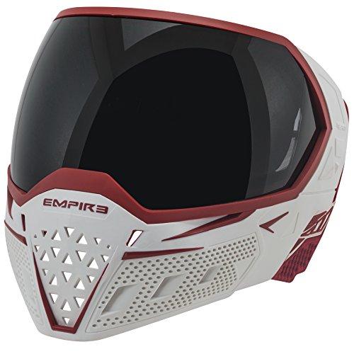 Empire Erwachsene EVS Paintball-Maske, weiß, One Size