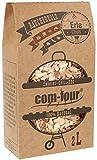 com-four 500 g Räucherchips aus Erlenholz - 100% natürlich - extra grobe Räucherspäne für Smoker-, Kugel-, Stand- und Gas-Grill