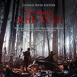 The Battle of Khe Sanh audiobook cover art