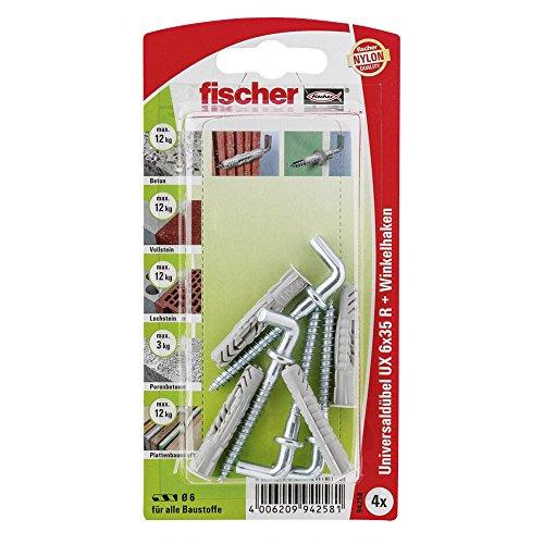 Fischer 94258 SB Uni-Dübel UX6X35 RHKX1