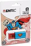 EMTEC Click 8 GB USB 2.0 Flash Drive, Superman