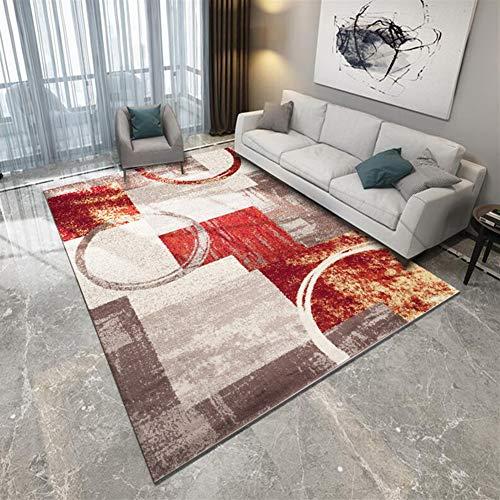 Ommda Alfombras Modernas Orientales Salon Dormitorios Grandes Rectángulo Antideslizante Habitacion Alfombras Vinilo Abstracta 3D 160x230cm