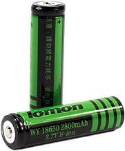 18650 Batterij 3.7 v Lithium Batterij 2800 mah Oplaadbare Lithium Batterij Geschikt voor Zaklamp LED licht-8 Stks