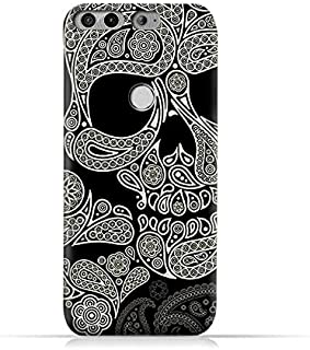 AMC Design Infinix Zero 5 X603 TPU Silicone Protective Case with Skull and Paisley Design
