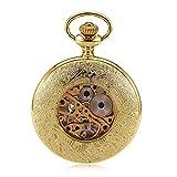 Zoom IMG-1 zulux oro tasca meccanica orologi