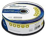 MediaRange MR222 CD de reescritura - CD-RW vírgenes (CD-R, 900 MB, 100 min, Caja para Pastel)