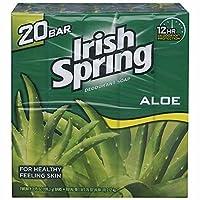 Irish Spring Aloe Scent Deodorant Soap - 20/4.0 oz. by Irish Spring
