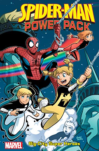 Spider-Man And Power Pack: Big-City Super Heroes (Spider-Man and Power Pack (2006-2007)) (English Edition)