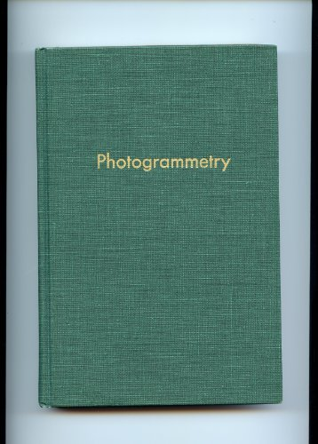 Photogrammetry 2ND Edition