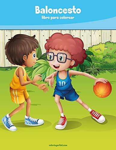 Baloncesto libro para colorear 1: Volume 1
