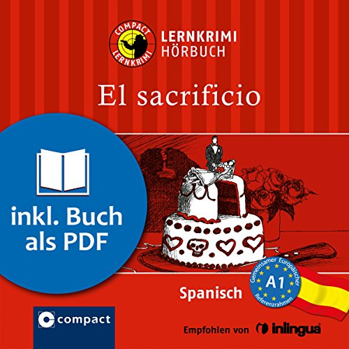 El sacrificio (Compact Lernkrimi Hörbuch) Titelbild
