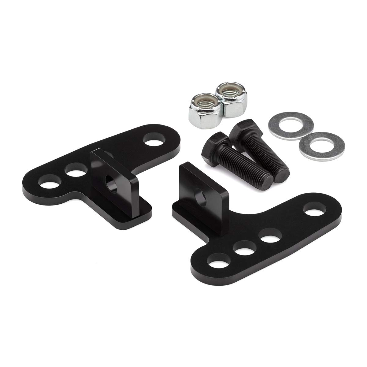3 Rear Lowering Link Kit Sportster 883 BlackPath 2 Black Sportster 1200 Motorcycle Drop Links High Carbon Steel Harley-Davidson Adjustable 1