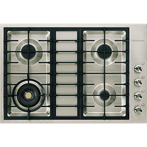 KitchenAid kHPS 7510/I Plaque – Plaque (intégré, gaz, acier inoxydable, rotatif, le haut à la droite, 230 V)