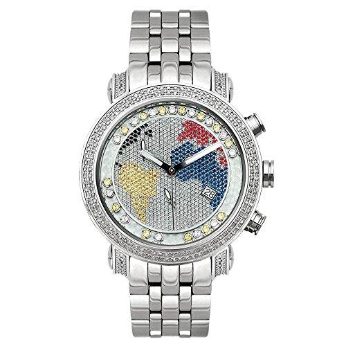 Joe Rodeo diamond reloj - Classic plata 1.75 CTW