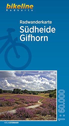 Radwanderkarte Südheide Gifhorn: 1:60.000 (Bikeline Radkarte)