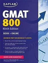 Kaplan GMAT 800: Advanced Prep for Advanced Students (Kaplan Test Prep)