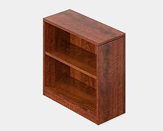 BUkk Wood Bookcase - Bookcase with Shelf - American Dark Cherry